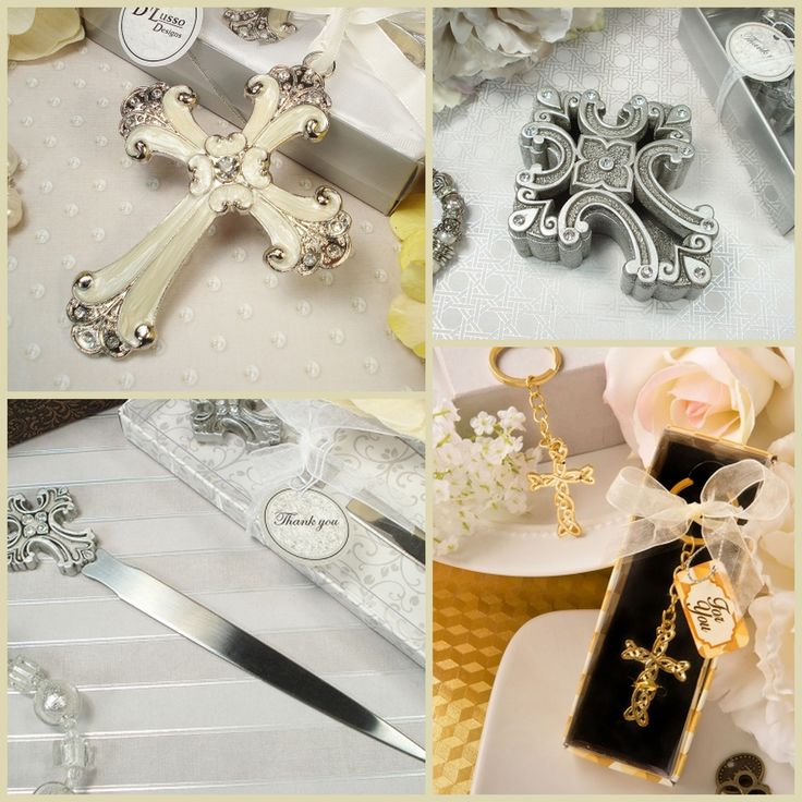 Cross and Angel Party Favors from HotRef.com