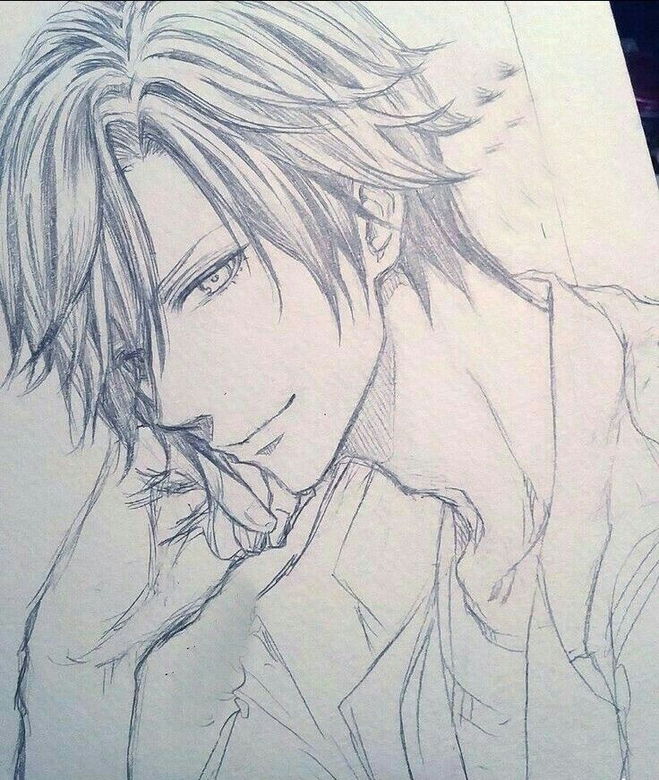 Pin By Vincent Petrova On Bleach Anime Drawings Sketches Anime Sketch Anime Boy Sketch