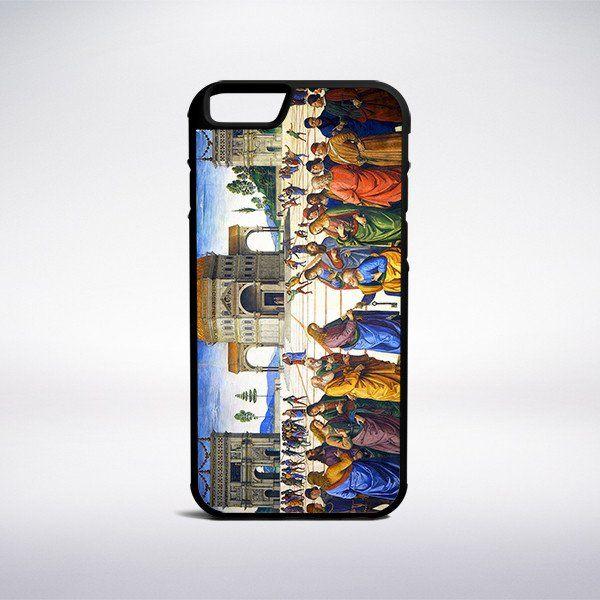 Pietro Perugino - Christ Handing The Keys To Saint Peter Phone Case – Muse Phone Cases