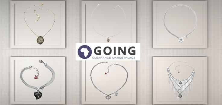 They say that jewelry is the fastest way to a woman's heart. Going believes that with clearance sale prices like ours, everyone has something to get excited about. We have a wide variety of necklaces, suited for every occasion, personality and price range.  http://www.going.co.za/guess-ubb81193-ladies-silver-bracelet-with-black-heart-pendant - Guess UBB81193 Ladies Silver Bracelet with Black Heart Pendant