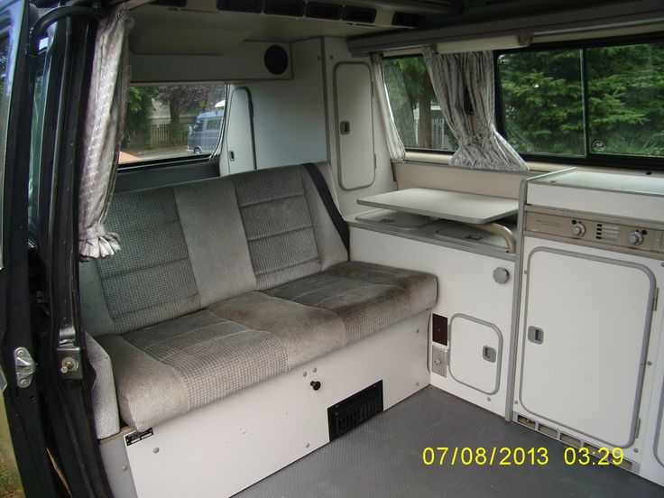 1989 vanagon westfalia interior vw syncro build for Interior westfalia