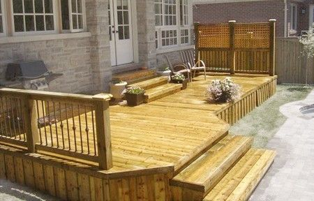Adding a front and back deck to the house! {How to build a deck} I WANT…