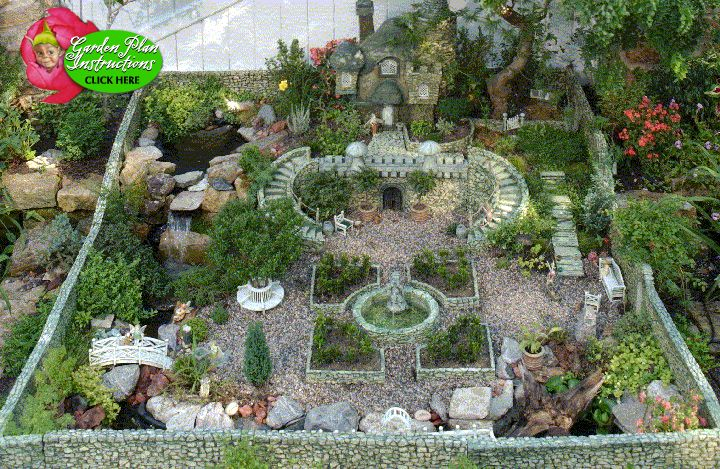 Fairy Garden Design Pictures miniature diy fairy gardens Fairy Garden Complete Instructions Are Here For This Beautiful One Pdf File Sadly The Link Is Now Broken But Photo Can Be Inspiration