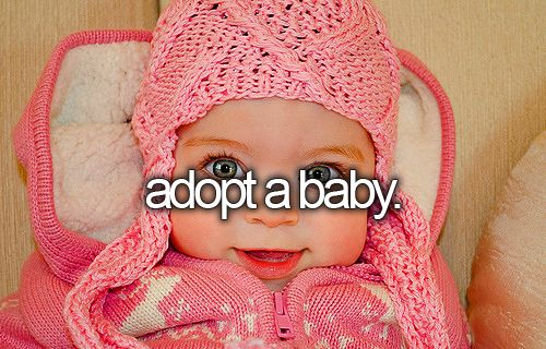 YESSSSS! this has been a dream of mine since i was younger. i want to adopt an Asian child.