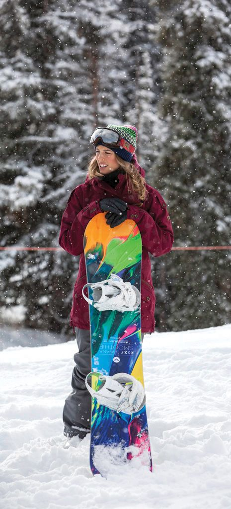 No snow adventure would be complete without Olympic gold medalist Torah Bright in on the action.     Go snowboarding with the girls in episode 3 of the #SurfToSnow @Olay Fresh Effects series