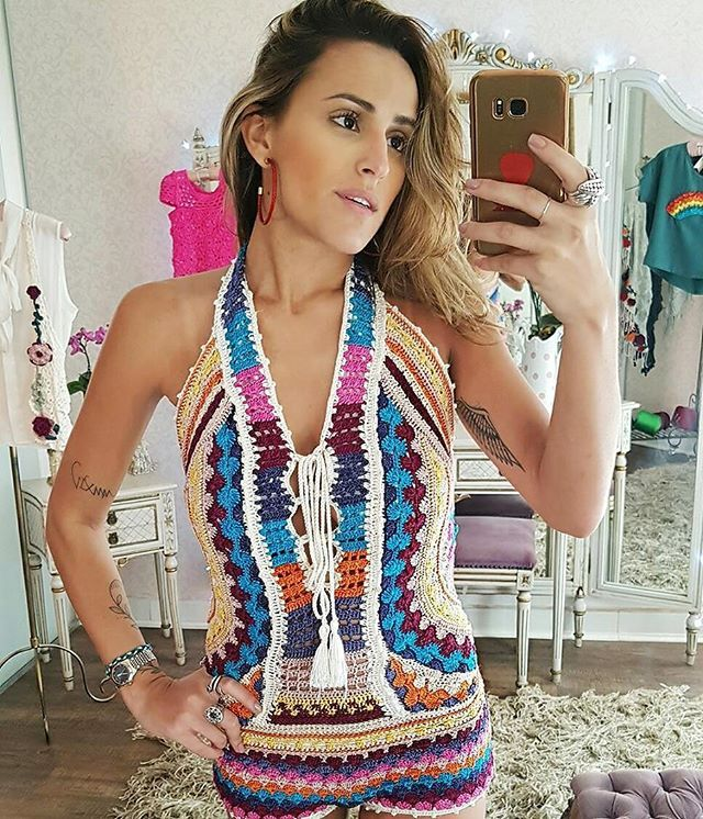 WEBSTA @ vanessamontoro - Summer for the entire year ??????????????????? #VanessaMontorosFairytale #VanessaMontoroStyle #VanessaMontoroCrochet #Timeless #FeitoporPessoas #HandMade #MadeinBrazil #FeitonoBrasil