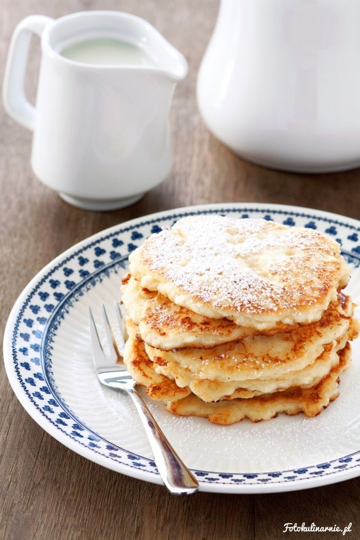 Sweet Cottage Cheese Fritters from Cracow.