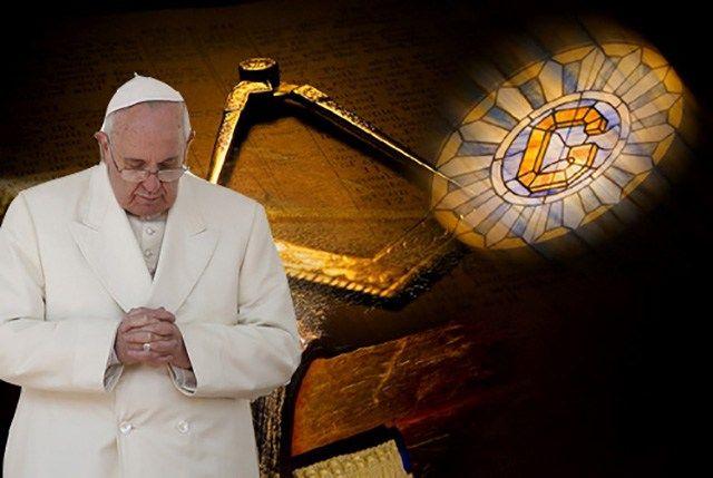 Papst Franziskus und die Begeisterung der Freimaurer für ihn. Obwohl er erst zweimal, und das negativ, zur Freimaurerei Stellung nahm, herrscht unter den Logenbrüdern seit seiner Wahl große Begeist…