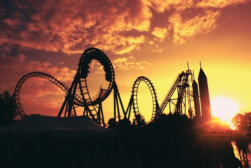 Rollercoaster: Montanha Russa, Buckets Lists, Art Photography, Girly Things, Rollers Coasters, Amusement Parks, Theme Parks, Summer Fun, Summer Time