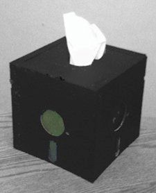 5.25 Floppy Disk Tissue Box Cover by LeBoutiqueGeek on Etsy, $25.00