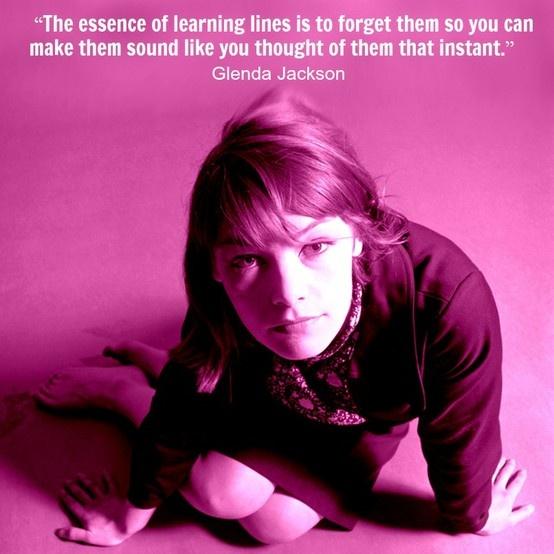 Glenda Jackson - Movie Actor Quote - Film Actor Quote - #glendajackson