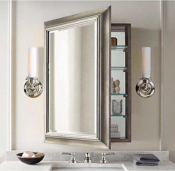 About 900 Each Large Recessed Box 22 1 4 W X 4 1 2 D X 32 1 2 H English Aged Nick Bathroom Mirror Design Bathroom Wall Cabinets Bathroom Medicine Cabinet