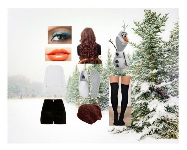 """""""Olaf day"""" by stprincess on Polyvore featuring Pottery Barn, Disney, Acne Studios, River Island, Vans and Nero Cosmetics"""