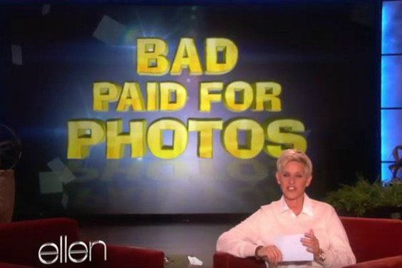 Have you seen this segment on the Ellen show?  Do you have some funny bad pictures that make you laugh?