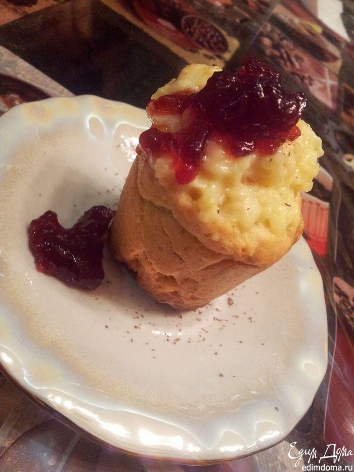 Быстрые булочки с ванильно-лимонным кремом на завтрак | Кулинарные рецепты от «Едим дома!»
