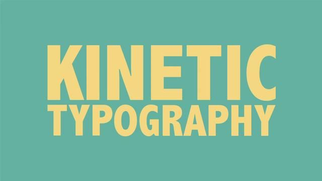 Kinetic Typography Tutorial by Jesse Rosten