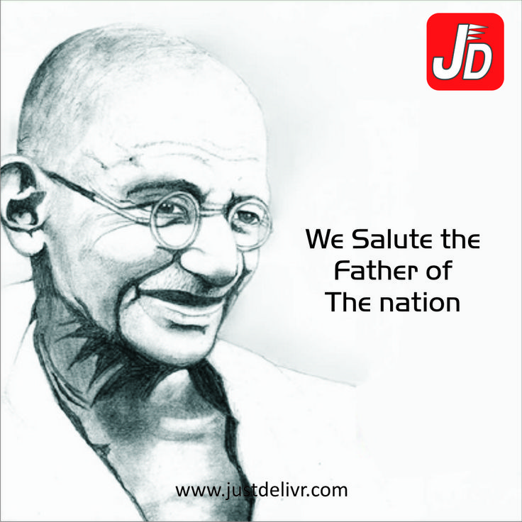 """We Salute the Father of The nation"""