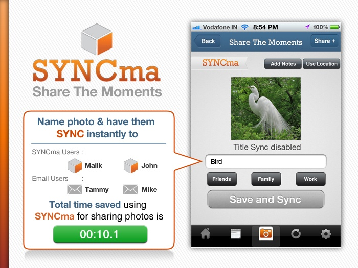 Share as many as 25 photos in one go with new smartphone app SYNCma: 25 Photo, Advanced Photo, Photo Shared, Photo Galleries, Google Play, Photo Libraries