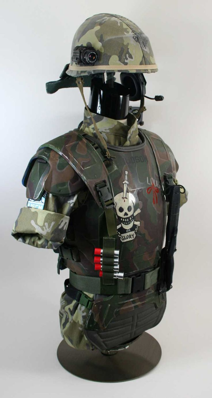 ALIENS: Terry English-made Hudson Colonial Marine Armor