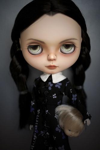 Wednesday Addams  Tomorrow on auction.