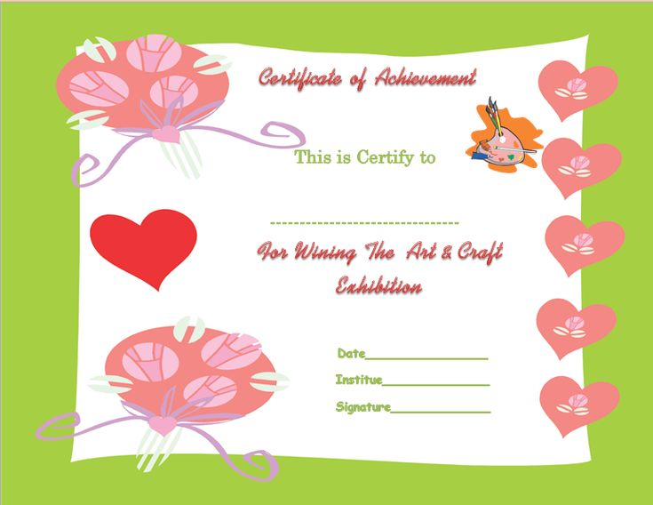 Colorful Best Reader Certificate of Appreciation Template - best of recognition award certificate wording