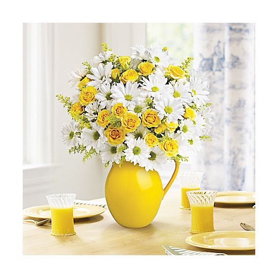 Floral arrangements are the perfect way to take your table from blah to aah!