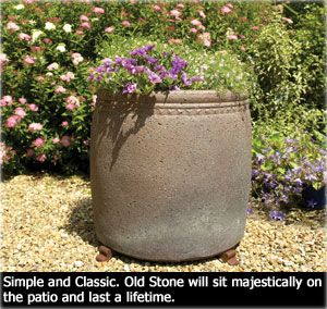 large garden planters garden planters apta terracotta pots old stone large