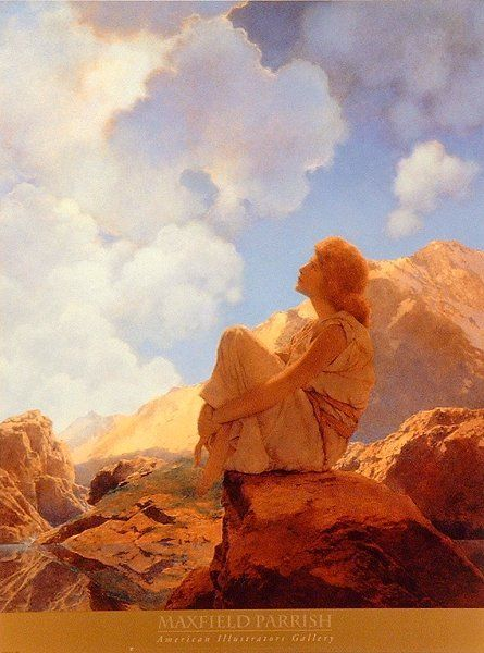 Maxfield Parrish...   Another favorite not yet owned.