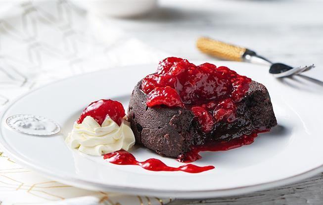 Lávový koláčik