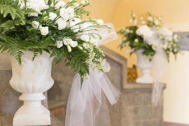 Allestimento floreale matrimonio chiesa