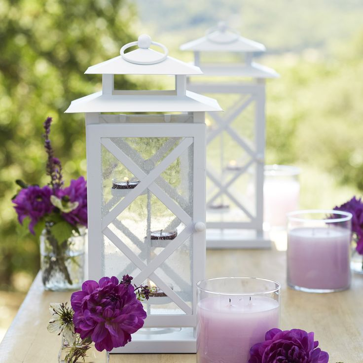 Our lovely Lattice Lantern! Every PartyLite Lantern features premium quality details like textured glass in the panels for an enhanced candlelit glow, durable metal finish ideal for outdoors or in, and secure latches that close with a click. That's the PartyLite advantage!  Become a Hostess/Host! --> http://bit.ly/1iDBgVg