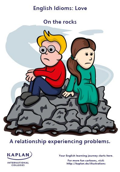 Love Idioms - Love on the rocks