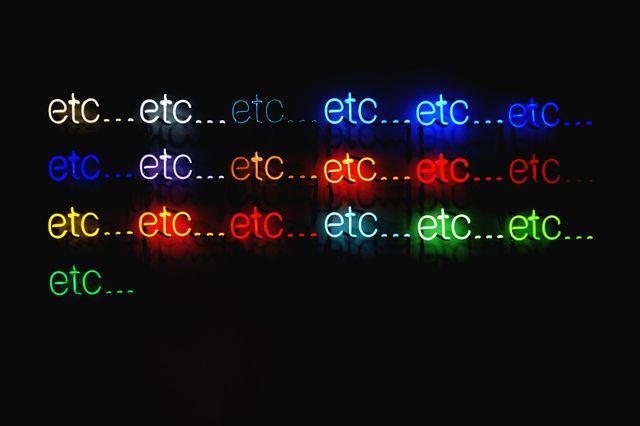 Peter Liversidge, Etc (2011), via Artsy