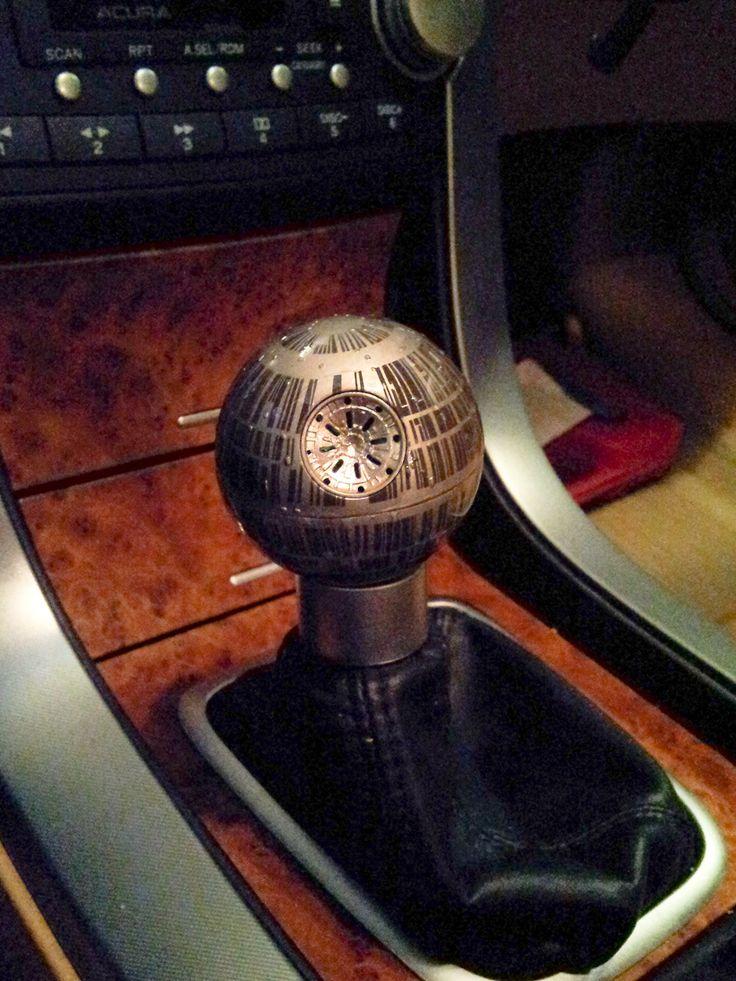 That's no moon... it's a Death Star shift knob!