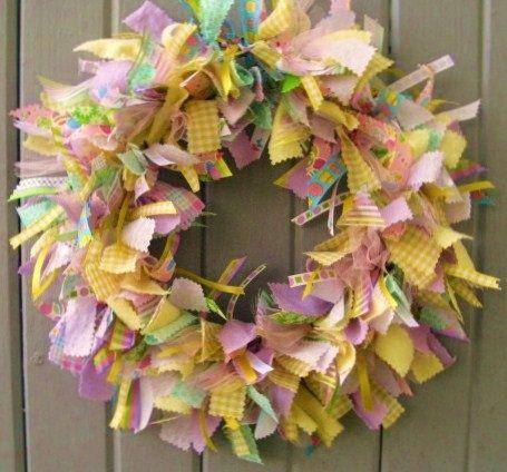 10 Easter Wreath Ideas - Deja Vue Designs