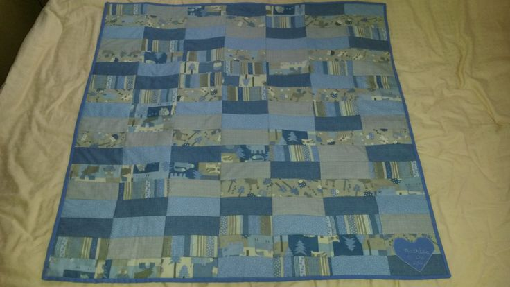 Baby Boys Fleece Quilt