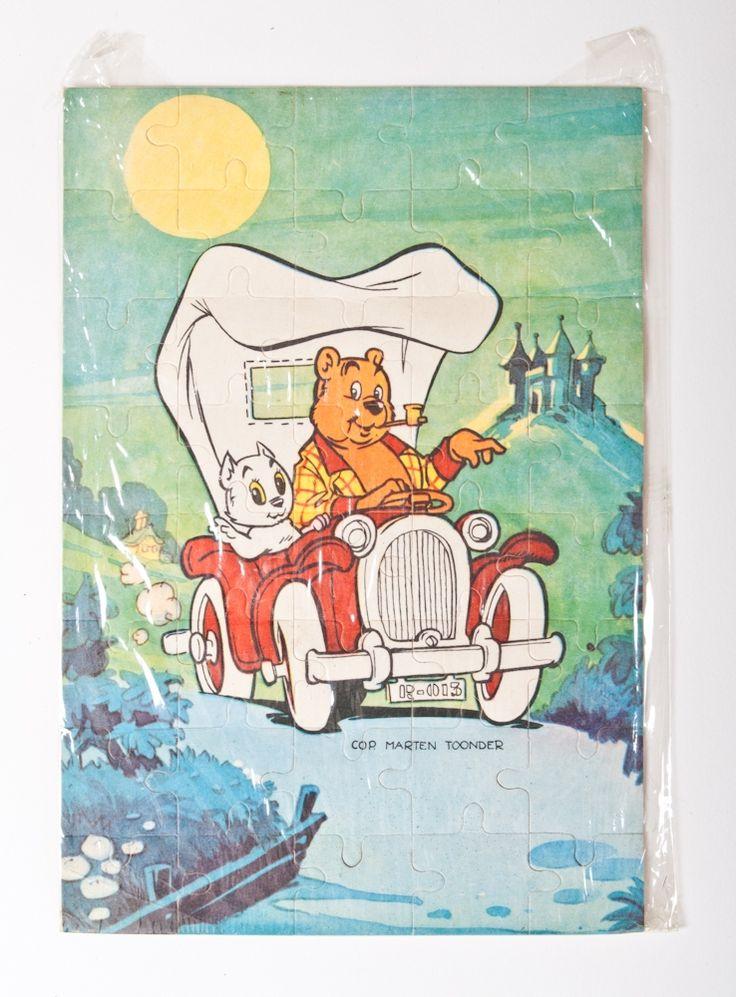 Marten Toonder - Luteijn & Zonen Tom Poes legpuzzels  Complete serie van 12 verschillende puzzels met Tom Poes, Joris Goedbloed, Wammes Waggel, Burgemeester Dickerdack, Joost, Panda, Kappie, de Maat, Markies de Canteclaer, Heer Bommel en Tom Poes in de Oude Schicht, nogmaals Tom Poes en Heer Bommel. Ook bekend als Bim Bam Bom puzzles. Nog in originele verpakking.
