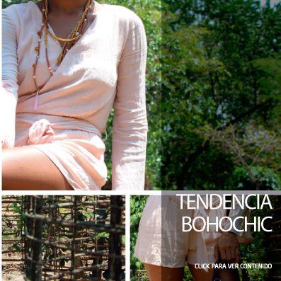 El Boho es el estilo que combina aspectos de las subculturas hippie y bohemia. Click abajo en la web para ver mas ... #Tendencia #BohoChic #Ropaimportada