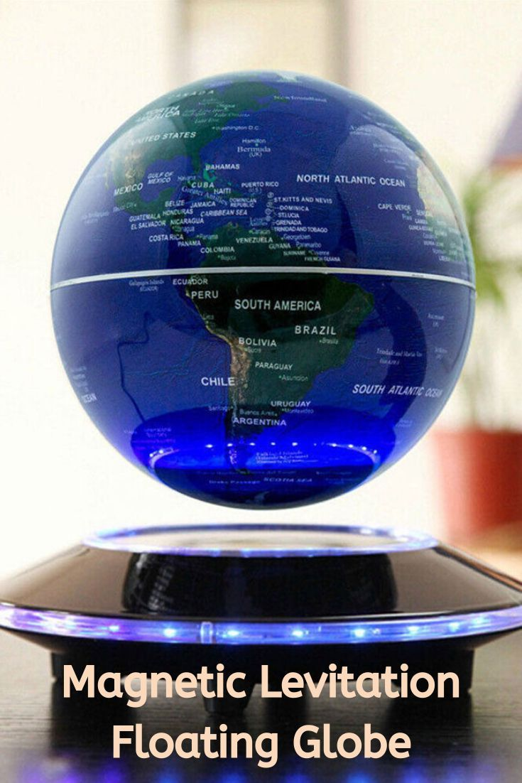 6inch Floating Globe With Led Lights In 2020 Floating Globe Levitation High Tech Gadgets