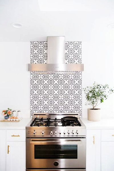 Beautiful Backsplash - The Best Kitchens We Saw All Year - Photos