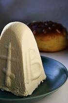 Easter Molded Cheese Dessert Recipe - Paska