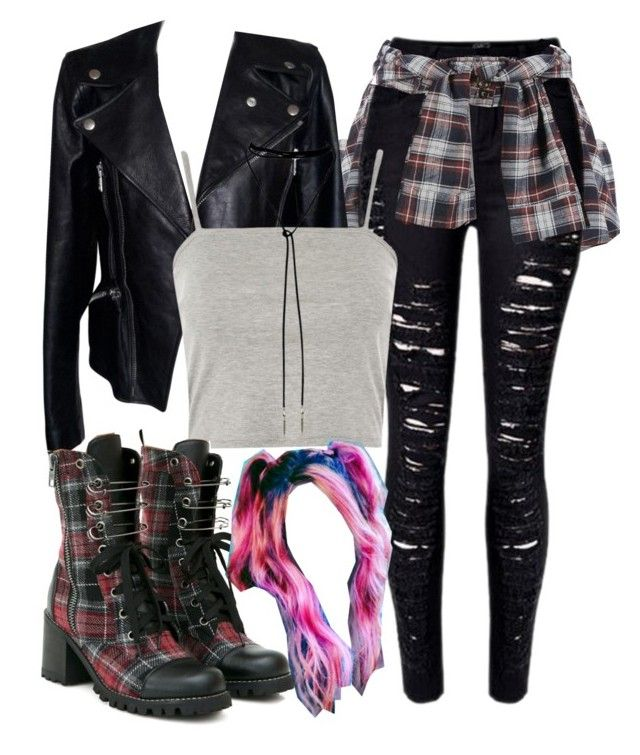 """""""Toni Topaz Inspired Outfit"""" by demiwitch-of-mischief ❤ liked on Polyvore featuring Alexander McQueen, Topshop and Current Mood"""
