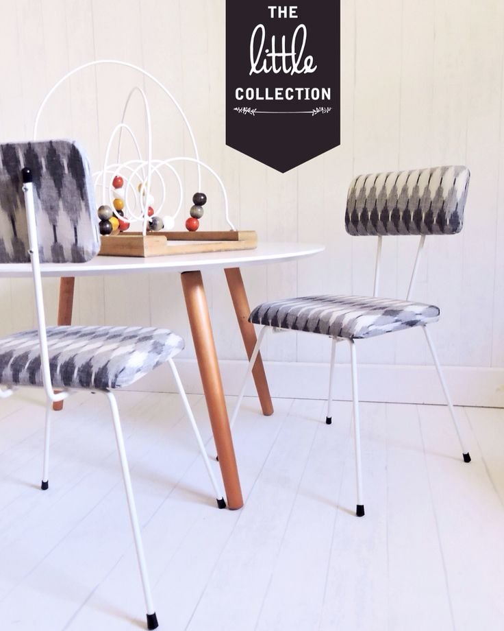The Little Collection kids retro style chair - GREYSON chair