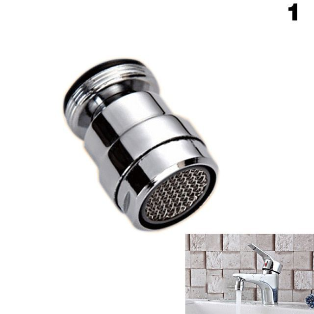 360 Degree Rotary Kitchen Bathroom Faucet Aerator Nozzle Tap Adapter Water Saving Device Bubbler Swivel Head Aerator Mydi Faucet Aerators Kitchen Faucet Faucet