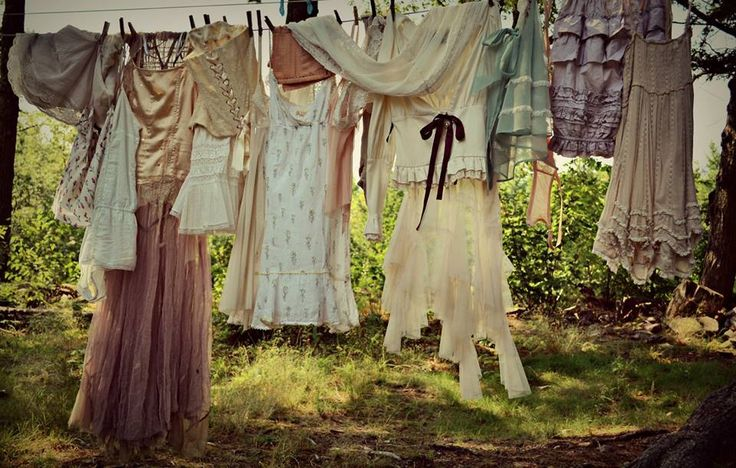 Laundry in the Afternoon