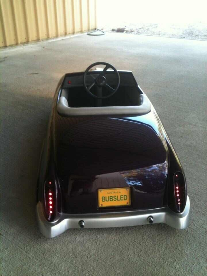 Our first BUBSLED pedal car