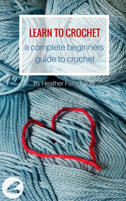 LEARN TO CROCHET : a complete beginners guide to crochet. Just read this e-book, and it's a fantastic resource for people who want to learn how to crochet!
