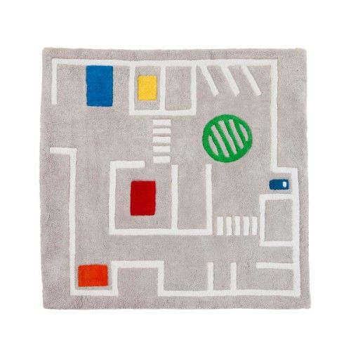 Tapis route Graphic City Oxybul