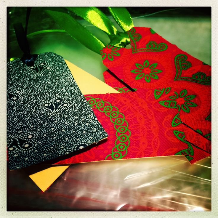 ShweShwe gift tags from Wrapped at SAM
