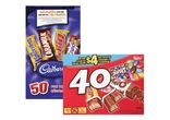 Nestle favourites (40's) or Cadbury (50's) chocolate bars - $6.99 EACH!